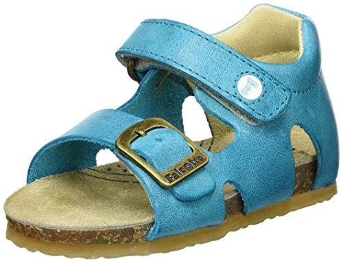 Falcotto Baby Jungen 1406 Sandalen, Blau (Jeans), 20 EU (Sandalen Falcotto)