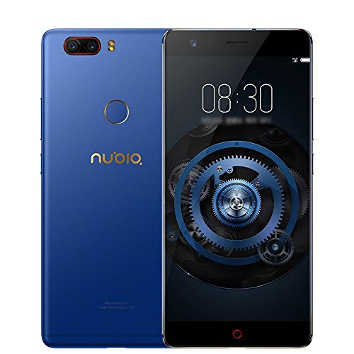 Nubia Z17 Lite 5,5 inch Smartphone 6GB 64GB 13,0 MP Dual Rear Camera Snapdragon 653 Octa Core Android 7,1 NFC QC 3.0 Metal Body - Blau