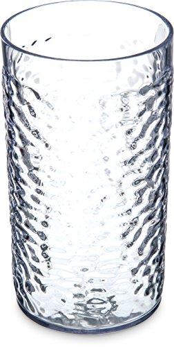 Carlisle 5517-07klar Kunststoff genarbte Tumbler 16Unze (5517-07) (Unze Becher 24 Becher)