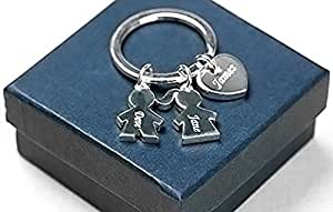 PERSONALISED CHILDREN KEYRING/CHARM