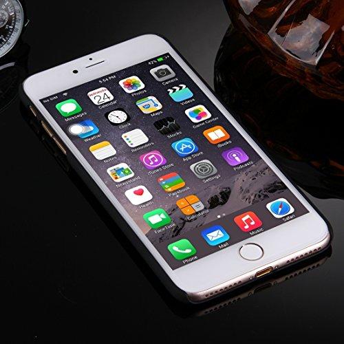 Für iPhone 7 Plus Prägung ausgehöhlte Blumenmuster Transparente Schutzmaßnahmen zurück Fall DEXING ( SKU : IP7P0078D ) IP7P0078B