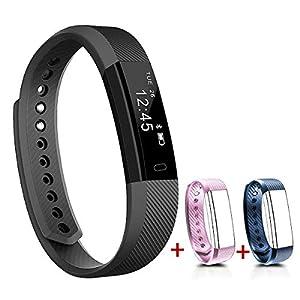 NAKOSITE SB2433 Reloj inteligente mujer hombre Smartwatch Pulsera actividad
