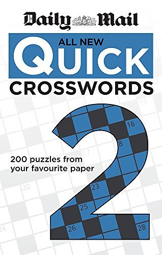 Daily Mail: All New Quick Crosswords 2 (The Daily Mail Puzzle Books) by Daily Mail(2013-05-06)