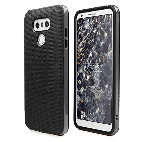 Urcover® Hybrid Series kompatibel mit LG G6 Hülle | Dual Layer Kunststoff | Smartphone Zubehör Tasche Case Handy-Cover Schutz-Hülle Schale | Grau