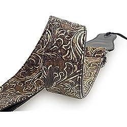 Correa Mugig para Guitarras - Ajustable, Acolchada, Resistente - Click para más Información