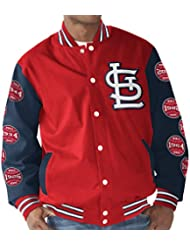 "St. Louis Cardinals MLB ""Power Hitter"" World Series Commemorative Varsity Jacket Veste"