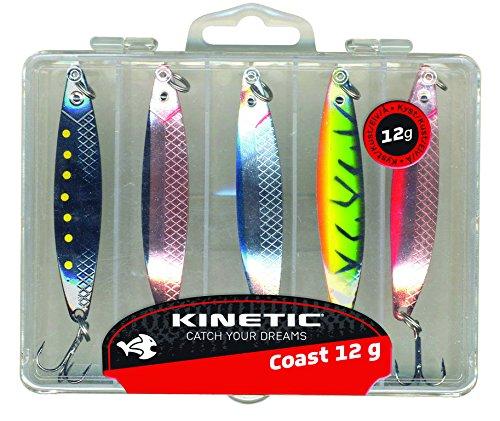 Kinetic Kunstköder x5 Coast 18G Mehrfarbig