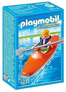 Playmobil - 6674 - Summer Fun - Enfant Et Kayak