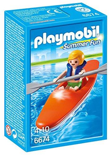 Playmobil - Niño con kayak (66740)