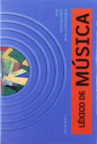 Léxico de música (Diccionarios para la enseñanza)