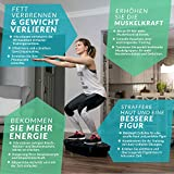 Bluefin Fitness 3D Dual-Motor Vibrationsplatte | Oszillation und Vibration | Ultimatives Fitnessgerät für Fettabbau und Gewichtsreduzierung - 6
