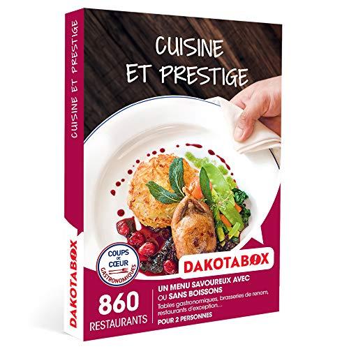 DAKOTABOX - Cuisine et prestige - Coffret Cadeau Gastronomie - 1 menu savoureux avec...