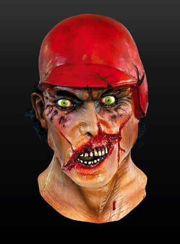 Halloween Horror Maske Baseball Zombie Zombiemaske Basecap Karneval - Baseball-halloween-maske
