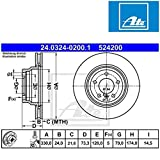 ATE 24032402001 Bremsscheibe Power Disc - (Paar)