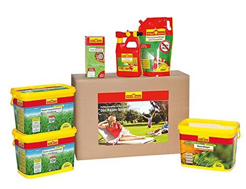 WOLF-Garten Rasen-Sorglos-Paket 250 m² granuliert P721; 3734721