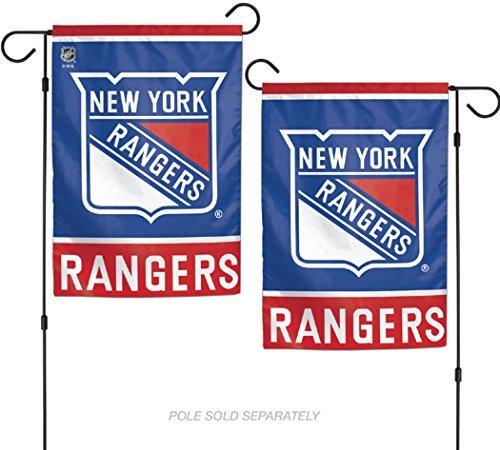 Wincraft NHL New York Rangers 31,8x 45,7cm Zoll beidseitigen Garten Flagge Logo/Text