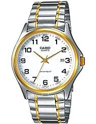 Casio  MTP-1188PG-7B - Reloj de cuarzo para hombre, con correa de acero inoxidable, color plateado