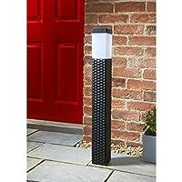 Solar Powered Venice Tall Solar Rattan Post Light