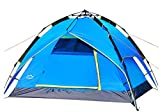 Full Automatique rapide à double couche imperméable extérieur/Camping/Voyage 2Man Tente