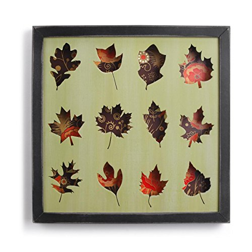 Leaf Wall Plaque (DEMDACO Leaf gerahmt Shadow Box)