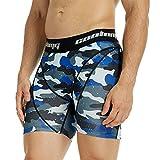 COOLOMG Herren Jungen Kompressionsshorts Unterhose Sport Laufen Radfahren Base Layer Hose kurz 10+ Farben