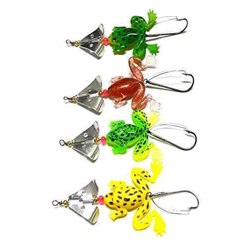 Farben in 4 Größen Preis p.St Hecht Barsch Köder Spinner Trendex von  2 versch