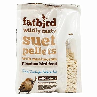 Stalwart Q-66168 Fat bird Suet Pellets, 500 g by Stalwart
