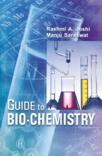 Pdf Guide To Biochemistry By Rashmi A Joshi 2008 07 30 Download