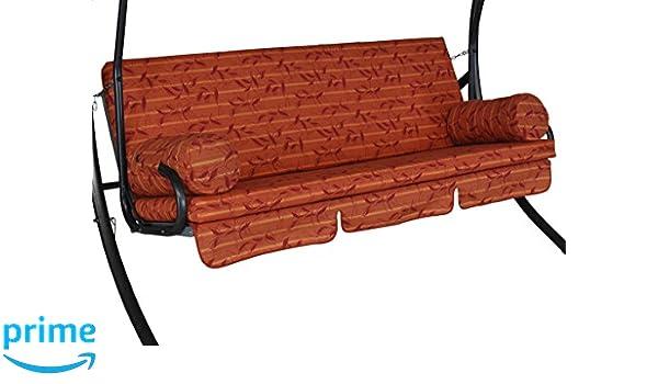 Angerer Trend Schaukelauflage 3-Sitzig Design Marbella 178 x 56 x 56 cm terracotta 2022//214