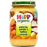 Hipp Panais Organique, Pomme De Terre Et La Dinde Cocotte 7 + Mois 190G