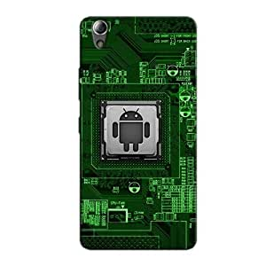 ANDROID PROCESSOR BACK COVER FOR LENOVO A6000