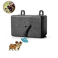 KOBWA Handheld Dog Repellent & Trainer, Dual Channel Ultrasonic Anti Barking Device 3 en 1 Repeller Dog/Outil de Formation/Arrêtez d'aboyer avec Lampe de Poche LED - 100% sans Danger