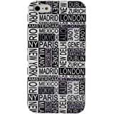 Akashi Coque pour iPhone 4/4S Cities