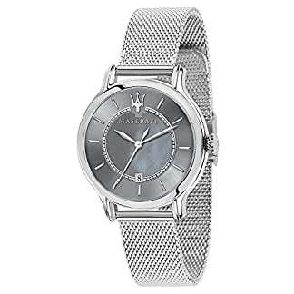 Maserati epoca Reloj para Mujer Analógico de Cuarzo con Brazalete de Acero Inoxidable R8853118508