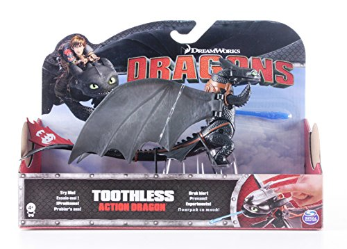 DREAMWORKS DRAGON TRAINER - PERSONAGGIO 3D TOOTHLESS