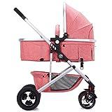 Haojun Kinderwagen Ultralight Kinderwagen Faltbarer Kinderwagen Babywagen Kann sitzen und Liegen (Farbe : 1#)