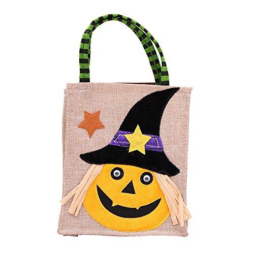 XuBa Süßigkeit Taschen, Niedliche Cartoon Design Geschenk, Lustige Taschen Halloween Dekoration