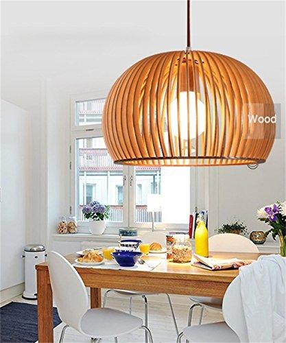 Uncle Sam LI-Wood Art Kronleuchter Nordic minimalistische Restaurant Kronleuchter (Sam Art Wood)