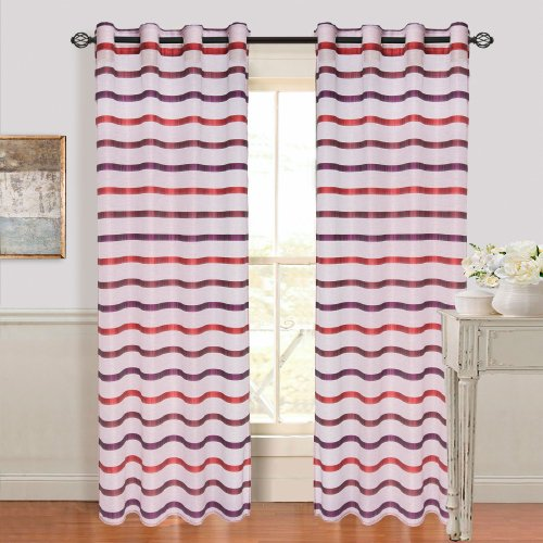 bedford-home-arla-grommet-single-curtain-panel-108-inch-wine-red