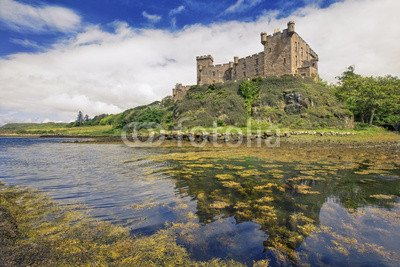 Dunvegan Castle (Alu-Dibond-Bild 140 x 90 cm: