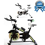 Exercise Bike Indoor Cardio Fitness Workout Machine Smooth - Best Reviews Guide