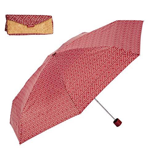 EZPELETA Paraguas Plegable Mini Mujer. Manual puño