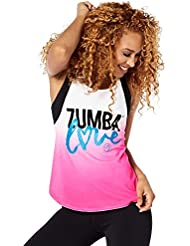 Zumba Fitness Love Débardeur Femme