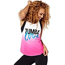 Zumba Fitness Love - camiseta de tirantes para mujer, Amor, Mujer, color Shocking Pink, tamaño XL