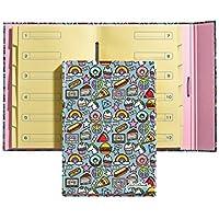 Jordi Labanda 20873 - Carpeta separadores stickers, DIN A4, 210 x 297 mm