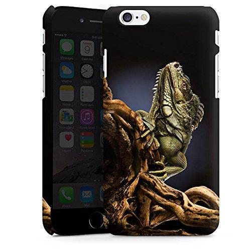 Apple iPhone X Silikon Hülle Case Schutzhülle Echse Reptil Tier Premium Case matt