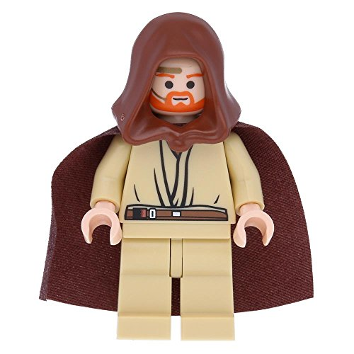 LEGO® Obi-Wan Kenobi (Young, Light Flesh with Hood and Cape)