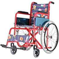 Silla de ruedas para niños plegable | Reposabrazos y reposapiés fijos | Ancho de asiento de 35 cm | Mod. Teatro | Mobiclinic