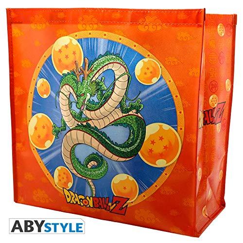 ABYstyle Abysse Corp_ABYBAG219 Dragon - Bolso de saltar con símbolo de Shenron y Kame (tamaño X4)