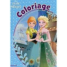 Disney La Reine des Neiges - Coloriage